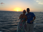 Chris and Sondra Bell Aruba Sunset Cruise