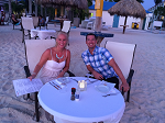 Aruba Marriott Beach Dinner