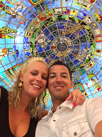 Chris & Sondra Bell Cancun Kukulcan Mall