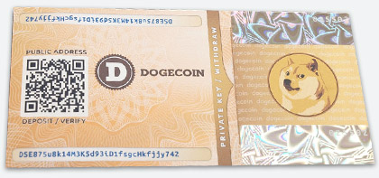 Lightweight dogecoin wallet