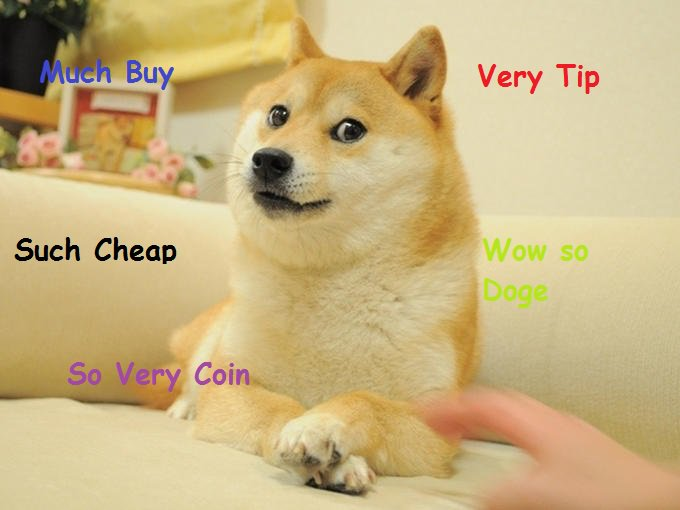 Dogecoin (DOGE) Very Coin Such Tip