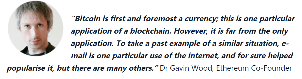 Ethereum (ETH) Quote Dr. Gavin Wood